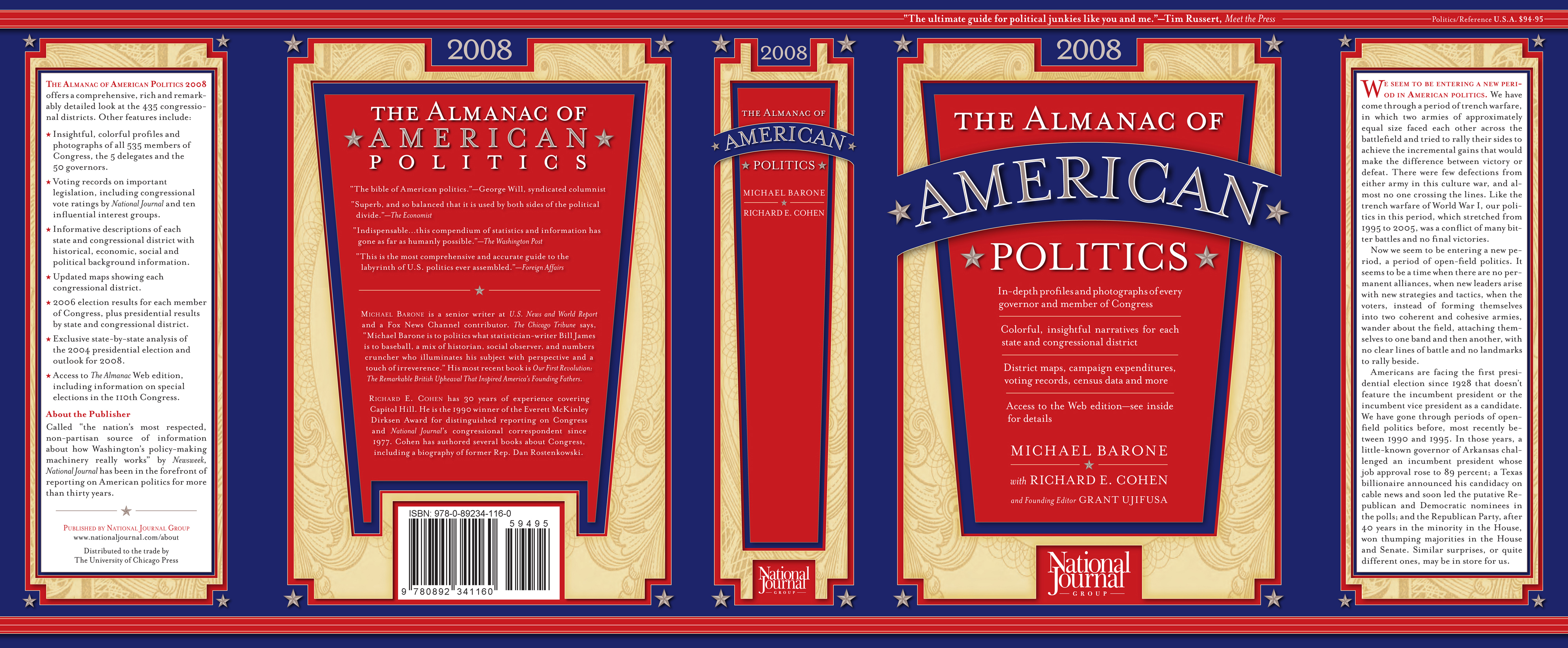 Almanac of American Politics 2008