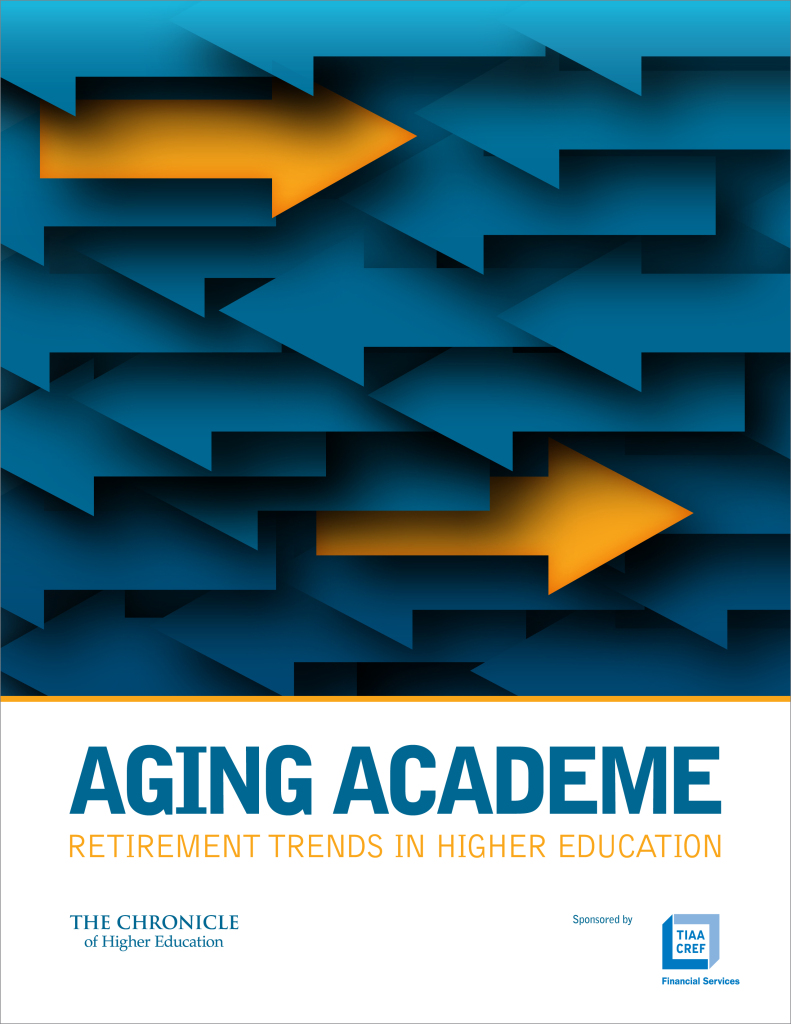 The Chronicle of Higher Education : Aging Academe Report