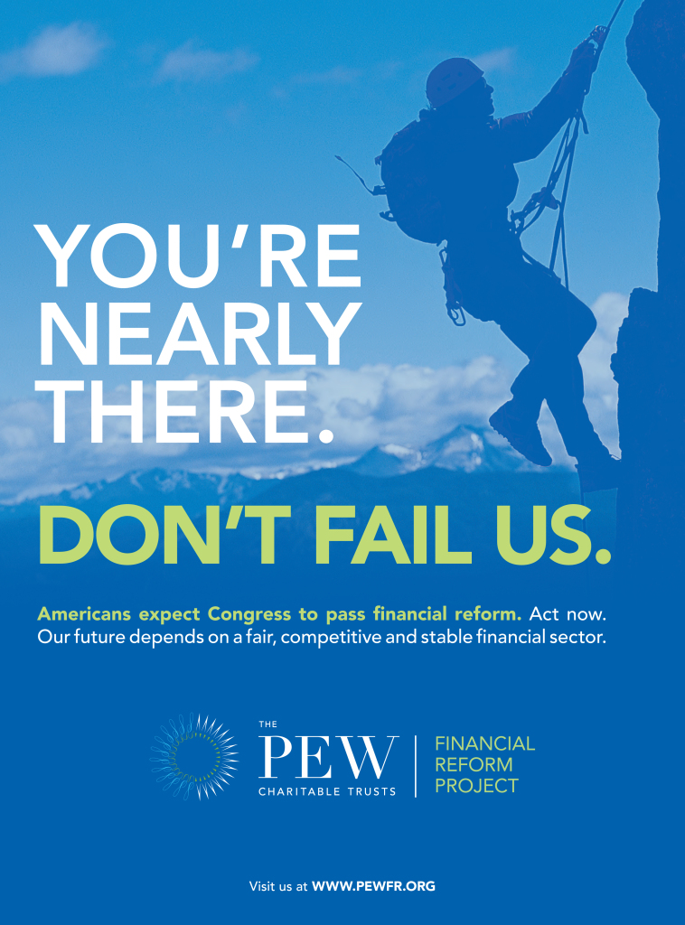 Pew Financial Reform Project Ad Series : Time