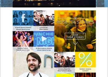"Rosetta Stone ""MORE"" Campaign Lifestyle Page Concept"