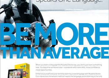 Rosetta Stone Global Consumer Print Ad
