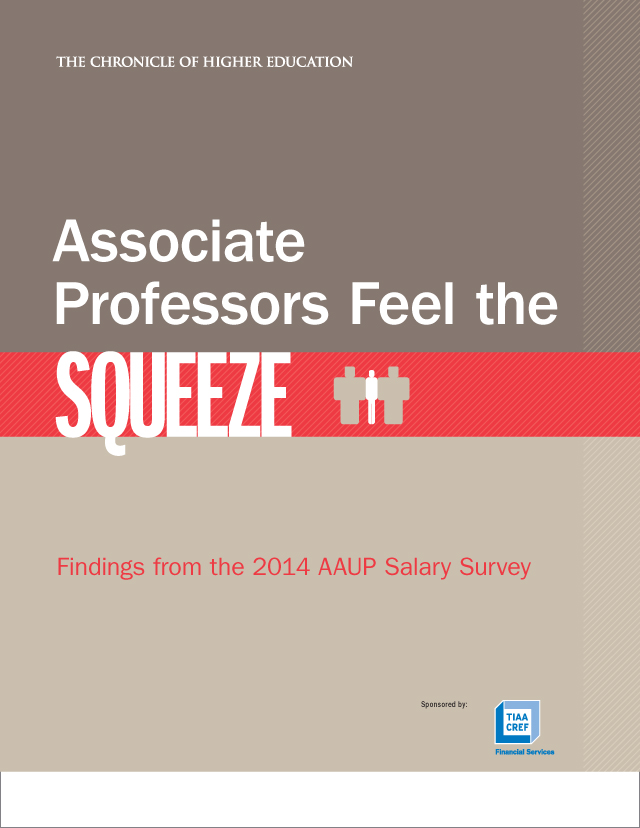 The Chronicle of Higher Education : AAUP 2014 Salary Survey