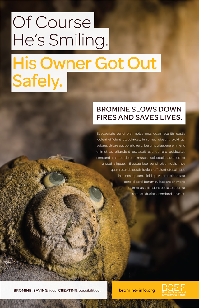 BSEF Ad Concept Treatment : Fire Safety