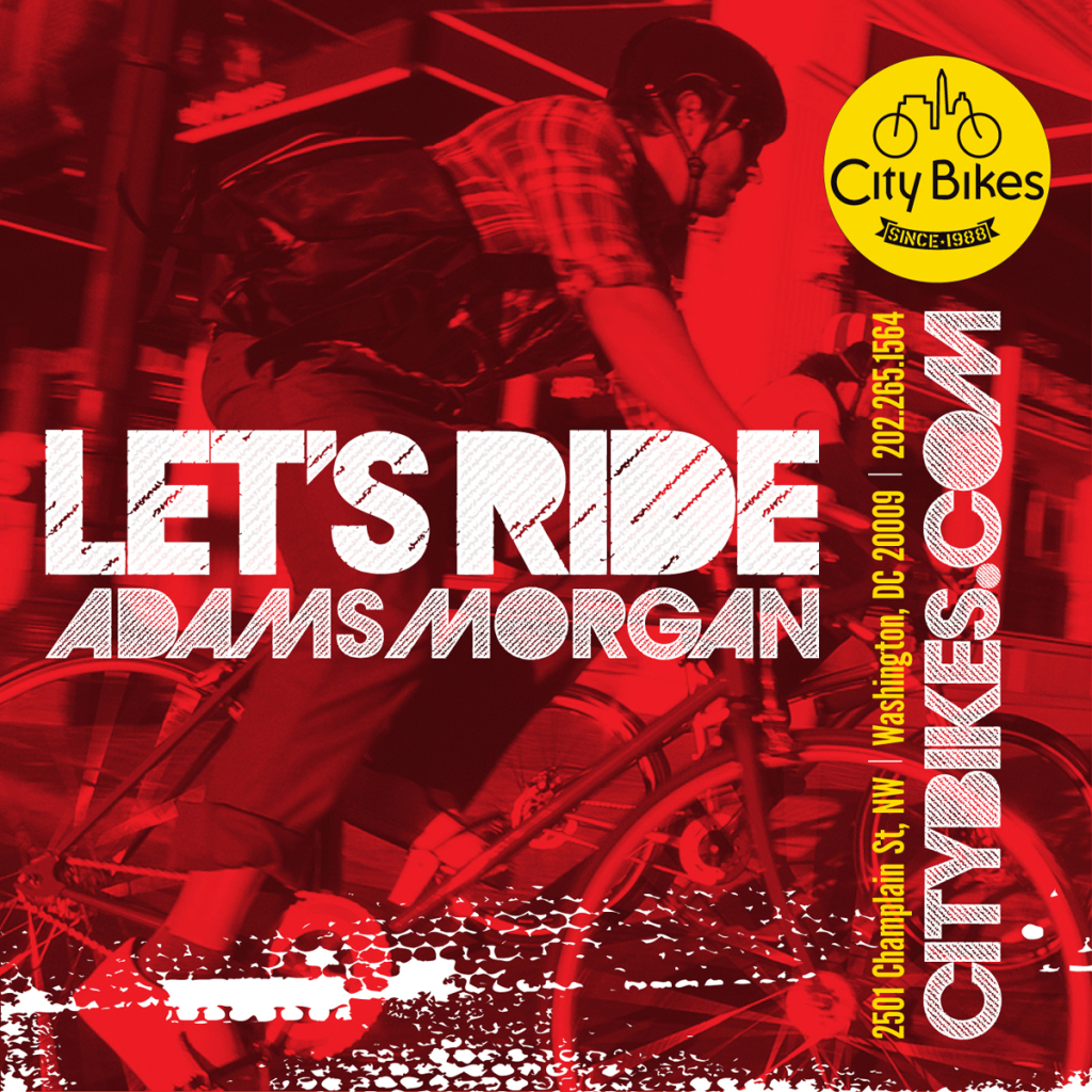 "City Bikes ""Let's Ride"" Banner Series : For the Commute"