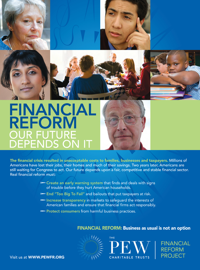 Pew Financial Reform Project Ad Series : People