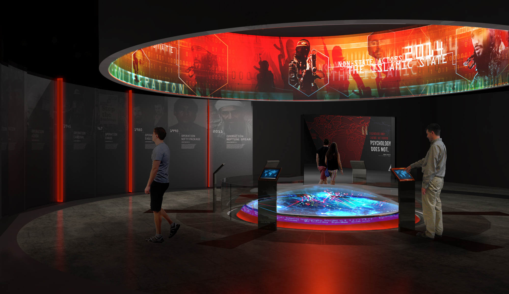 National Museum of Intelligence & Special Operations: Future Challenges Gallery