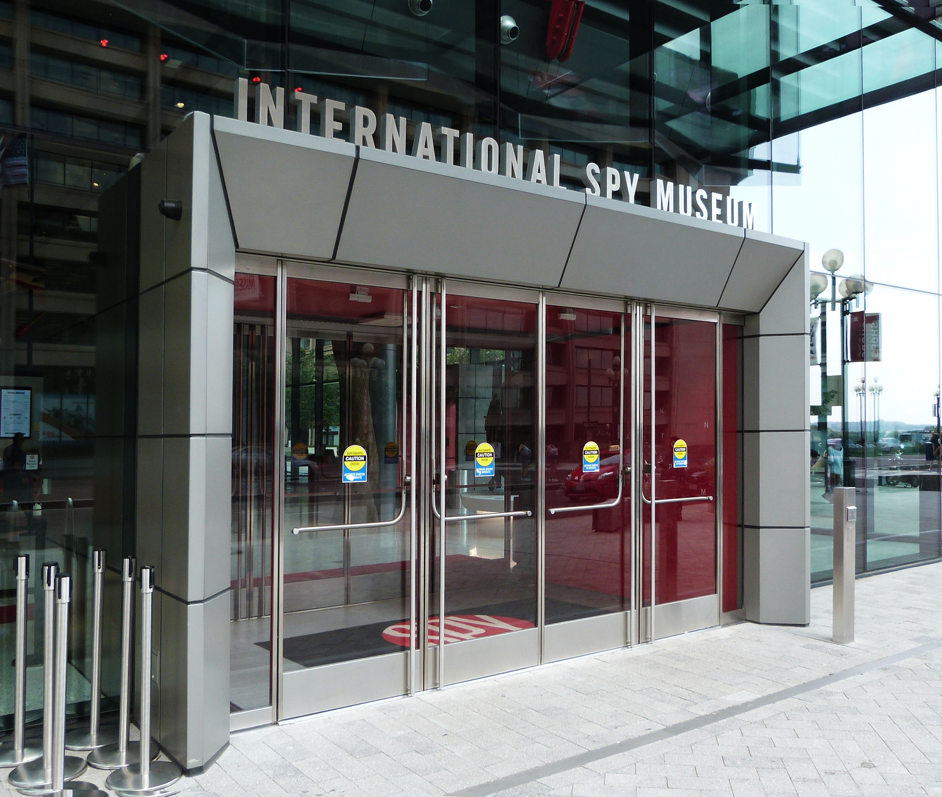 SPY Museum Main Entry ID